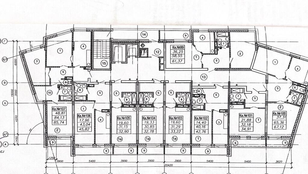 Тульская, 82с, 1-комнатная квартира